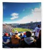 001 Buffalo Bills Vs Jets 30dec12 Fleece Blanket