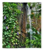001 Falling Waters For The Cactus Lover In You Buffalo Botanical Gardens Series Fleece Blanket