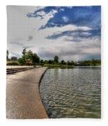 001 Hoyt Lake Fleece Blanket