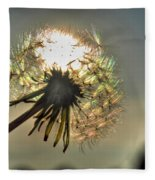 001 Make A Wish At Sunset Fleece Blanket