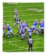 0010 Buffalo Bills Vs Jets 30dec12 Fleece Blanket
