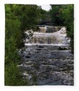 0015 Glen Falls Of Williamsville New York Series  Fleece Blanket