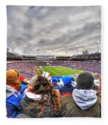 0017 Buffalo Bills Vs Jets 30dec12 Fleece Blanket