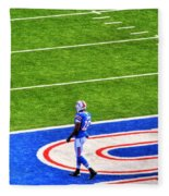 002 Buffalo Bills Vs Jets 30dec12 Fleece Blanket