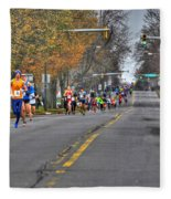 002 Turkey Trot  2014 Fleece Blanket