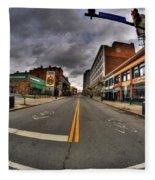 0021 Starbucks Or Spot... Fleece Blanket