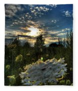 003 Life Is Beautiful Fleece Blanket