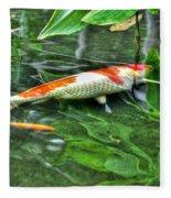 003 Within The Rain Forest Buffalo Botanical Gardens Series Fleece Blanket