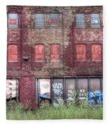 0037 Abandoned Warehouse Fleece Blanket
