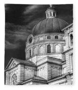0039 The Basilica Of St. Josaphat Fleece Blanket