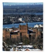 0048 After The Nov 2014 Storm Buffalo Ny Fleece Blanket