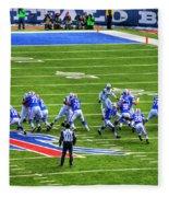 005 Buffalo Bills Vs Jets 30dec12 Fleece Blanket