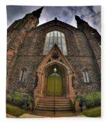 009 Asbury Delaware Avenue Methodist Church Fleece Blanket