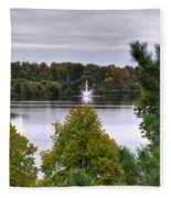 009 Hoyt Lake Autumn 2013 Fleece Blanket