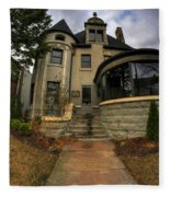 009 Law Offices Cornell Mansion Fleece Blanket