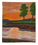 011 Landscape Fleece Blanket