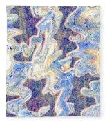 0114 Abstract Thought Fleece Blanket