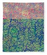 0122 Abstract Thought Fleece Blanket