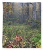 0134 Misty Meadow Fleece Blanket