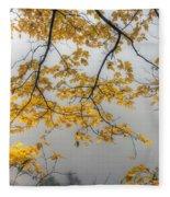 0135 Autumn Gold  Fleece Blanket