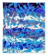 0137 Abstract Thought Fleece Blanket