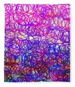 0144 Abstract Thought Fleece Blanket