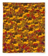 0167 Abstract Thought Fleece Blanket