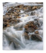 0190 Glacial Runoff 2 Fleece Blanket