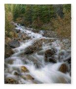 0192 Glacial Runoff Fleece Blanket