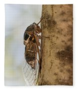 02 New Forest Cicada  Fleece Blanket