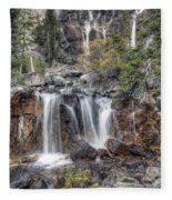 0202 Tangle Creek Falls 5 Fleece Blanket