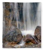 0203 Tangle Creek Falls 4 Fleece Blanket