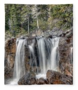 0206 Tangle Creek Falls 2 Fleece Blanket