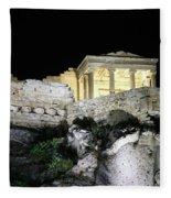 0212 The Acropolis Athens Greece Fleece Blanket