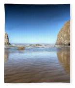 0238 Cannon Beach Oregon Fleece Blanket