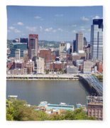 0240 Pittsburgh Pennsylvania Fleece Blanket