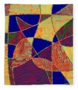 0268 Abstract Thought Fleece Blanket