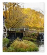 0289 Hyde's Mill Wisconsin Fleece Blanket