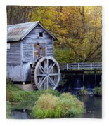 0290 Hyde's Mill Wisconsin Fleece Blanket
