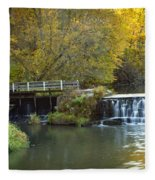 0291 Hyde's Mill Wisconsin Fleece Blanket