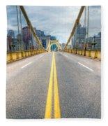 0306 Pittsburgh 9 Fleece Blanket