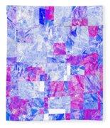 0318 Abstract Thought Fleece Blanket