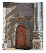 0328 Mission At San Juan Capistrano Fleece Blanket