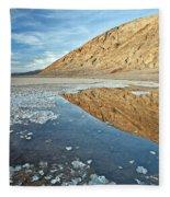 0330 Badwater Basin Fleece Blanket