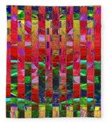 0337 Abstract Thought Fleece Blanket