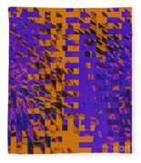 0347 Abstract Thought Fleece Blanket