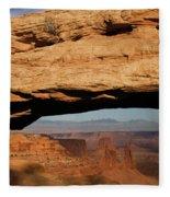 0375 Mesa Arch Fleece Blanket