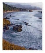 0412 Indian Beach  Fleece Blanket