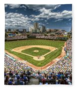 0443 Wrigley Field Chicago  Fleece Blanket