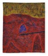 046 Abstract Thought Fleece Blanket